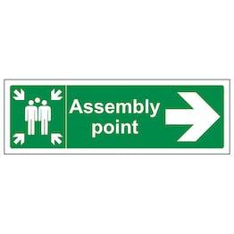 Assembly Point Arrow Right