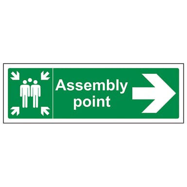 Assembly Point Arrow Right