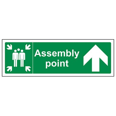 Assembly Point Arrow Up