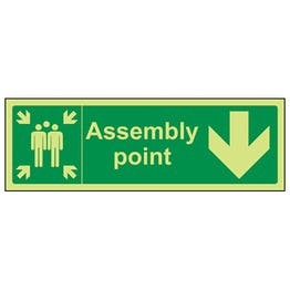GITD Assembly Point, Arrow Down