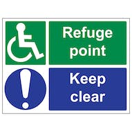 Disabled Safe Condition Signs