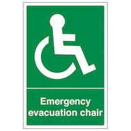 Emergency Evacuation Chair - Portrait