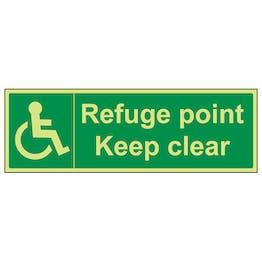 GITD Refuge Point Keep Clear