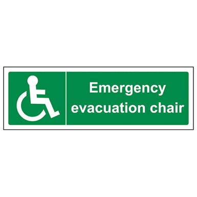 Emergency Evacuation Chair - Landscape