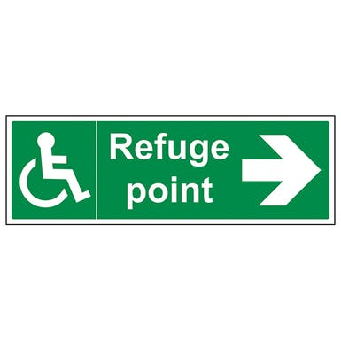Refuge Point Arrow Right - Landscape