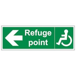 Refuge Point Arrow Left - Landscape