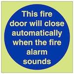 GITD Fire Door Will Close Automatically