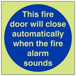 GITD Fire Door Will Close Automatically