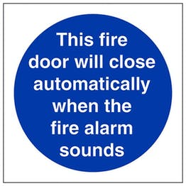 Eco-Friendly This Fire Door Will Close Automatically