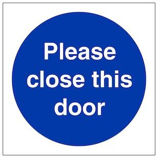 Please Close This Door