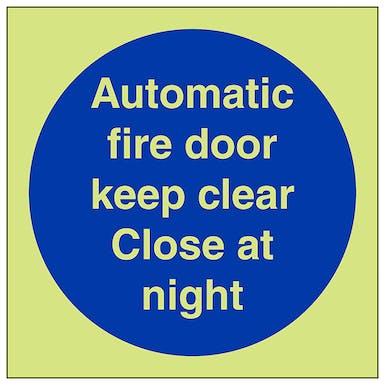 GITD Automatic Fire Door