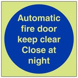 GITD Automatic Fire Door