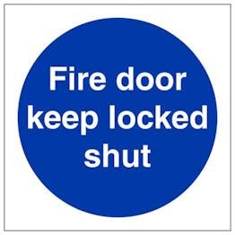 Eco-Friendly Fire Door Keep Locked Shut