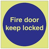 GITD Fire Door Keep Locked