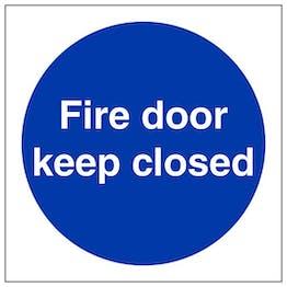 Eco-Friendly Fire Door Keep Closed