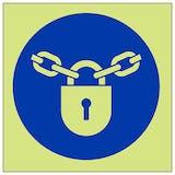 GITD Mandatory Padlock Symbol