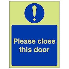 GITD Please Close This Door - Portrait