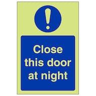 GITD Close This Door At Night - Portrait