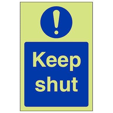 GITD Keep Shut - Portrait