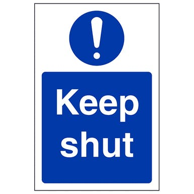 Keep Shut - Portrait