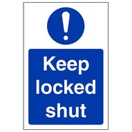 Keep Locked Shut - Portrait