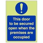 GITD Secure Door - Portrait