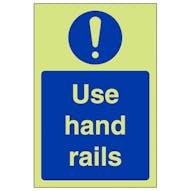 GITD Use Hand Rails - Portrait