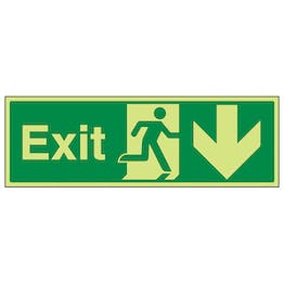 GITD Exit Arrow Down