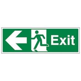 Exit Arrow Left - Landscape