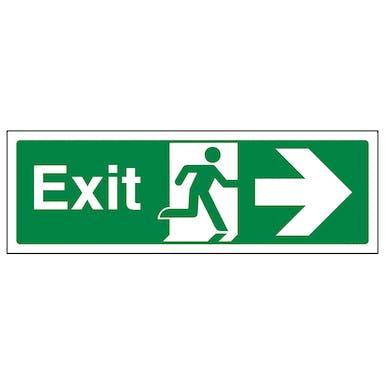 Exit Arrow Right - Landscape