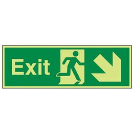 GITD Exit Arrow Down And Right