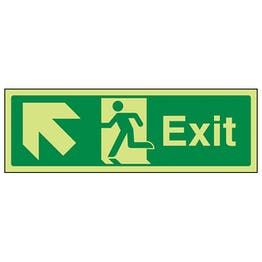 GITD Exit Arrow Up And Left