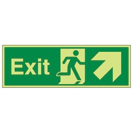 GITD Exit Arrow Up And Right