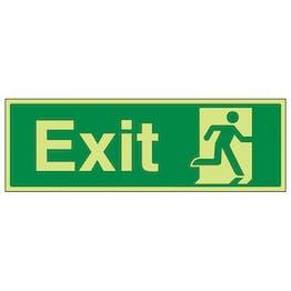 GITD Exit Running Man Right