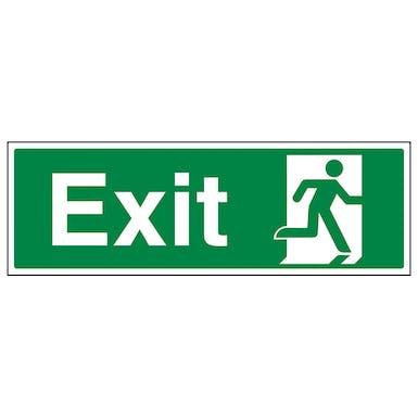 Exit Running Man Right