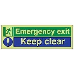 GITD Emergency Exit/Keep Clear