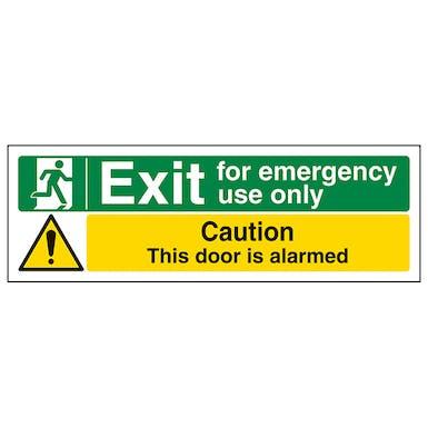 Emergency Use/Caution Alarmed - Landscape