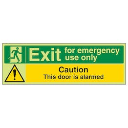 GITD Emergency Exit/Door Is Alarmed