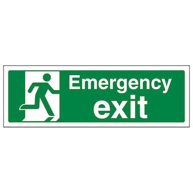 Emergency Exit - Landscape