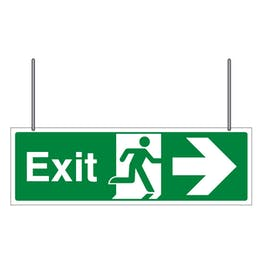 Double Sided Exit Arrow Left/Right