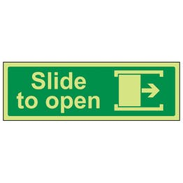 GITD Slide To Open Right - Landscape