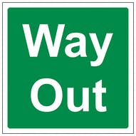 Way Out - Square
