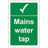 Mains Water Tap