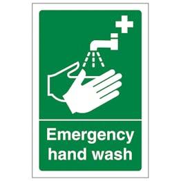 Emergency Hand Wash - Portrait