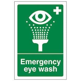 Eco-Friendly Emergency Eye Wash - Portrait
