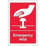 Emergency Stop - Red
