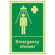 GITD Emergency Shower - Portrait
