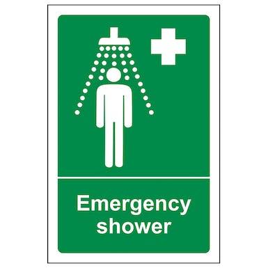 Emergency Shower - Portrait