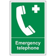 Emergency Telephone - Portrait
