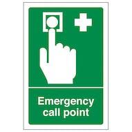 Emergency Call Point - Portrait